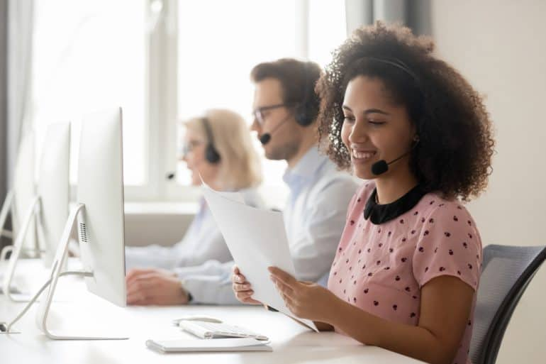 Customer support agents who adapt to Covid-19